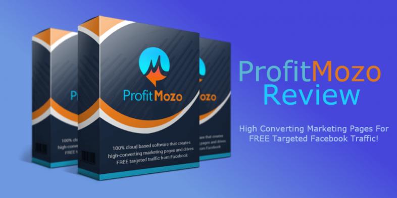 ProfitMozo landing page builder review