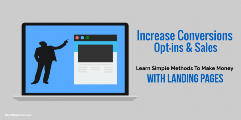 Make Money With Landing Pages